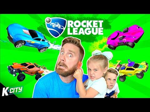 Rocket League Family Battle 2 (AVA UNLEASHED!) K-CITY GAMING