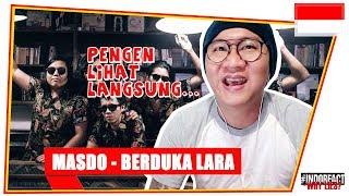 Cover images MASDO - BERDUKA LARA (LIVE) #INDOREACT