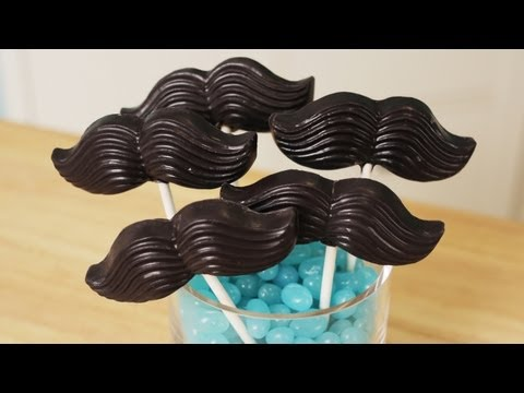 Generate MUSTACHE CANDY POPS - NERDY NUMMIES Images