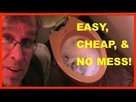 How to Unclog a Toilet - Clogged toilet TRADE SECRET! - YouTube