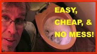How to Unclog a Toilet - Clogged toilet TRADE SECRET!