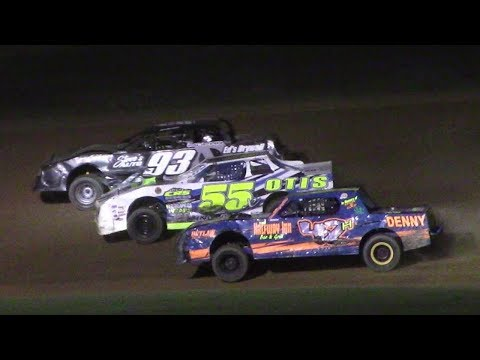 Pure Stock Feature | McKean County Raceway | 8-17-17