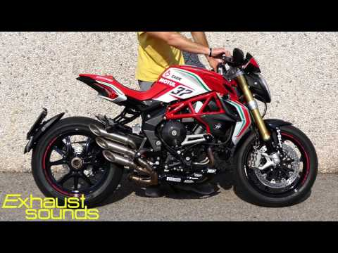 MV AGUSTA DRAGSTER RC - FF by FRESCO - Exhaust Sound #002