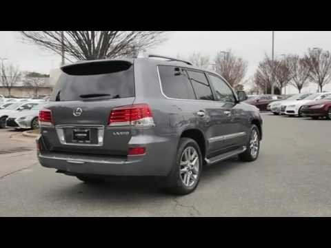 Johnson Lexus Of Raleigh Nc >> 2014 Lexus LX 570 for sale in Raleigh NC - YouTube