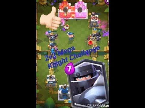 2v2 Mega Knight Challenge! Clash Royale w/ Nolan