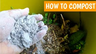 Paano magcompost gamit ang container | Composting for beginners - design for easy access of microbes