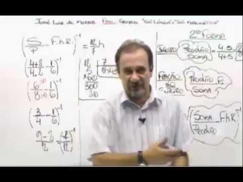 Matemática   Prof  José Luiz de Morais