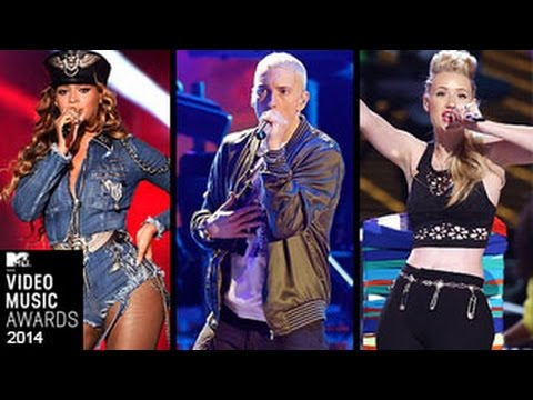 MTV VMA 2014 Nominations - Miley Cyrus, Eminem, Beyonce, Iggy Azalea & More