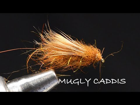 Mugly Caddis Fly Tying Video - Tied By Charlie Craven