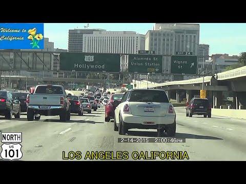 San Diego CA to Los Angeles CA HD 2015