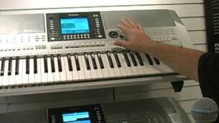 Yamaha PSR-S710 and PSR-S910 Arranger Keyboards Summer NAMM Demo