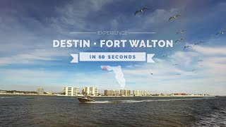 60 Seconds in Destin and Fort Walton Beaches