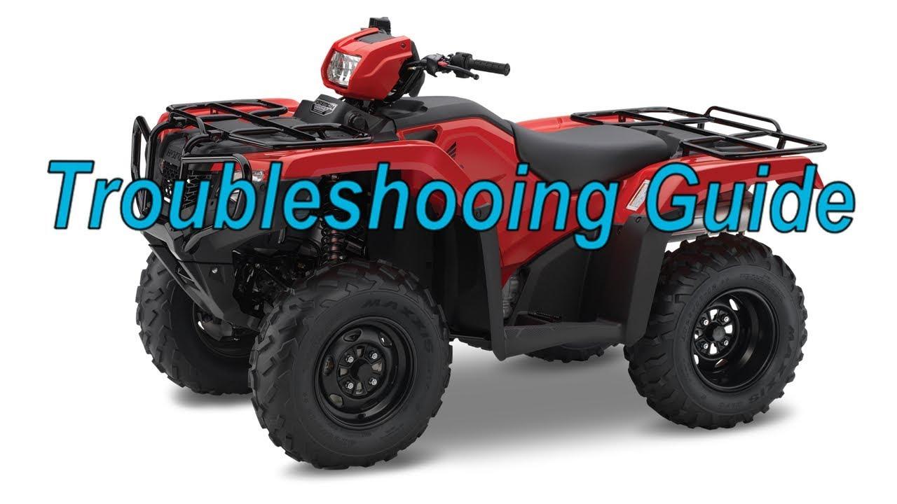 Honda TRX Idles Rough (Troubleshooting Guide)