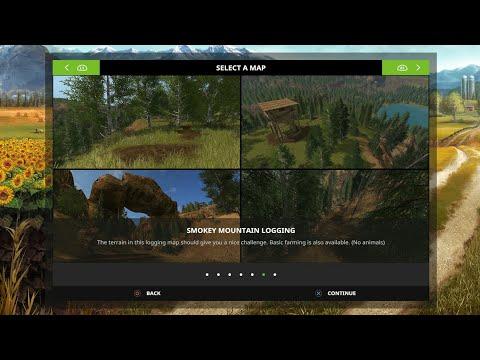 FS17: Smokey Mountain Logging Map Tour