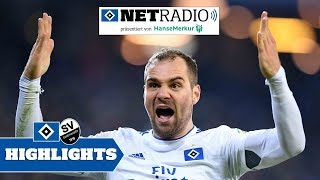 Die HSVnetradio Highlights vom Spiel gegen den SV Sandhausen