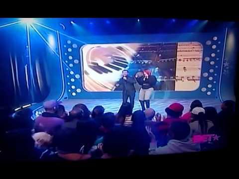 Faith evans n El debarge performing live