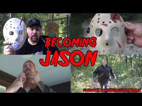 BECOMING JASON | Making the Jason hockey mask and costume for Friday the 13th Part 4