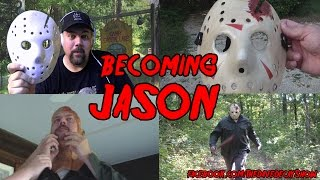 Making the Jason hockey mask and costume for Friday the 13th Part 4