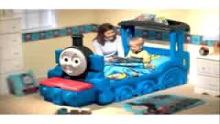 Thomas The Train Bed | Little Tikes Thomas & Friends Toddler Bed Box