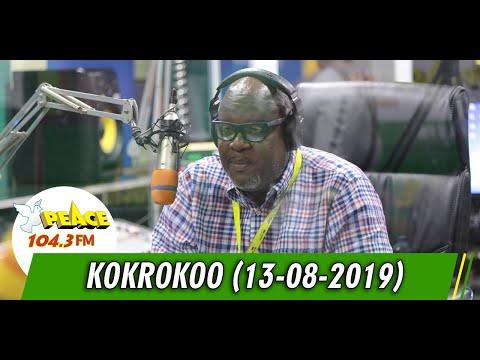 KOKROKOO LIVE ON PEACE 104.3 FM (13/08/2019)
