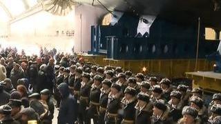 """Атомную подлодку """"Казань"""" проекта """"Ясень-М"""" спустили на воду"""