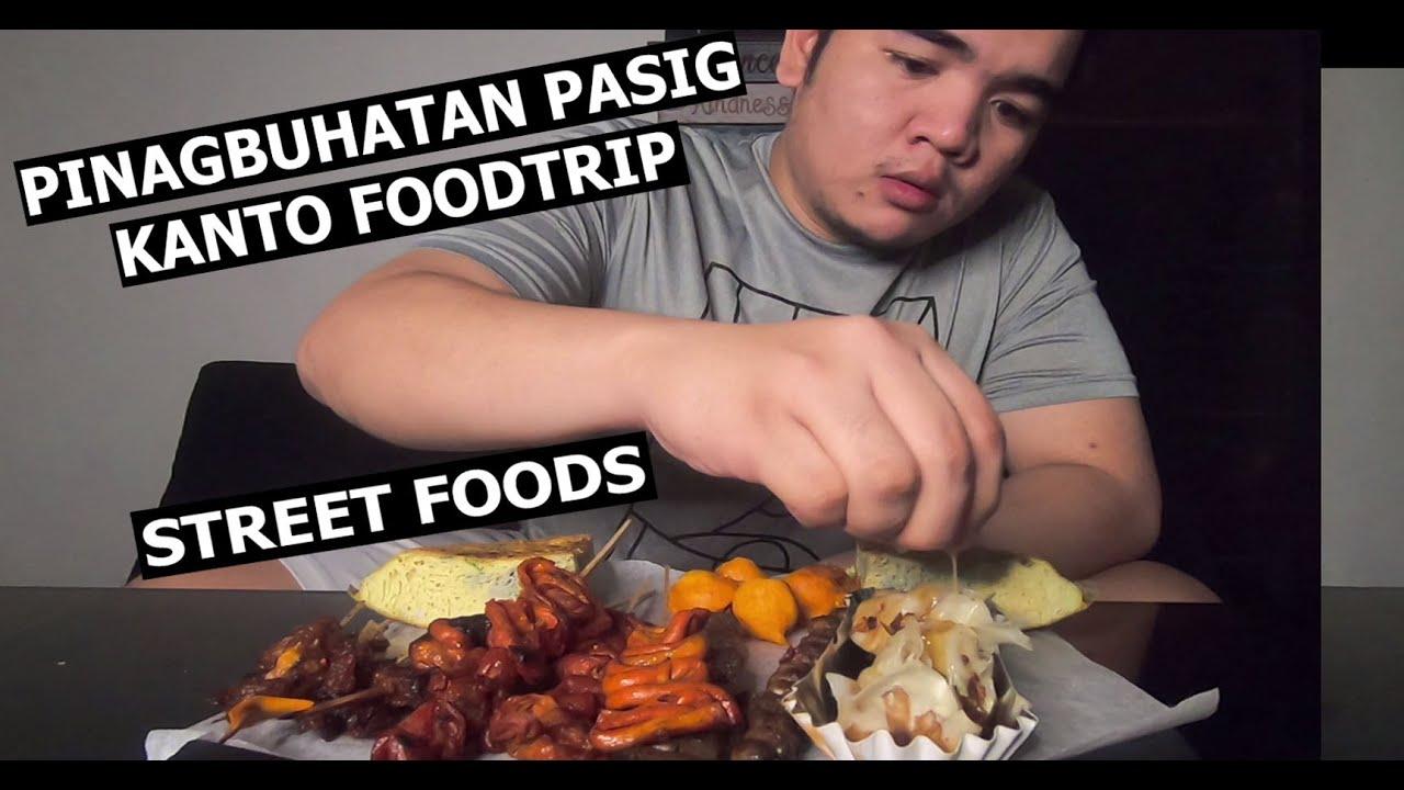 PHILIPPINES STREET FOODS / PINAGBUHATAN PASIG KANTO ASMR MUKBANG / VLOG 110