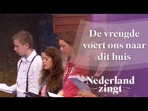 Nederland Zingt: De vreugde voert ons naar dit huis
