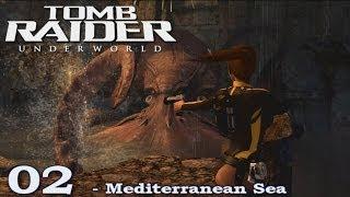 [HD] Tomb Raider Underworld Walkthrough Part 2 - Mediterranean Sea - ITA (PS3)