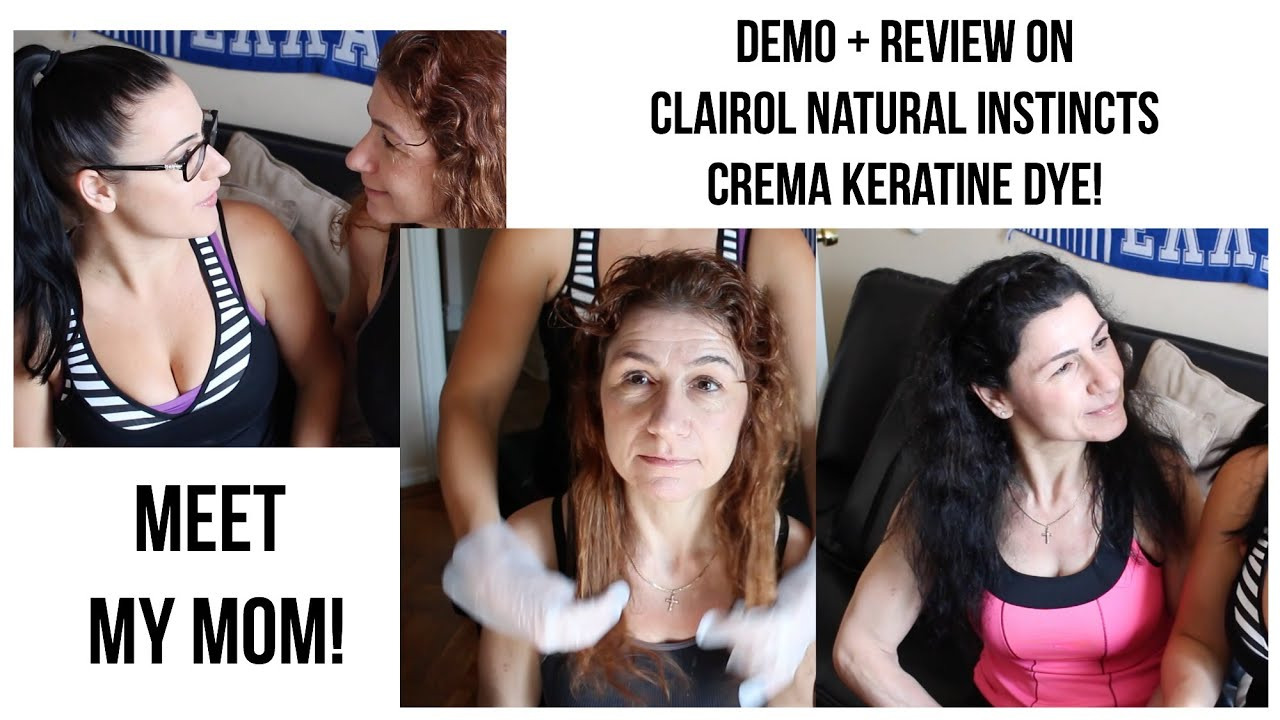 How i colour my hair using natural haircolor youtube - Hair Color From A Box Hair Dye Diy Clairol Natural Instincts Youtube