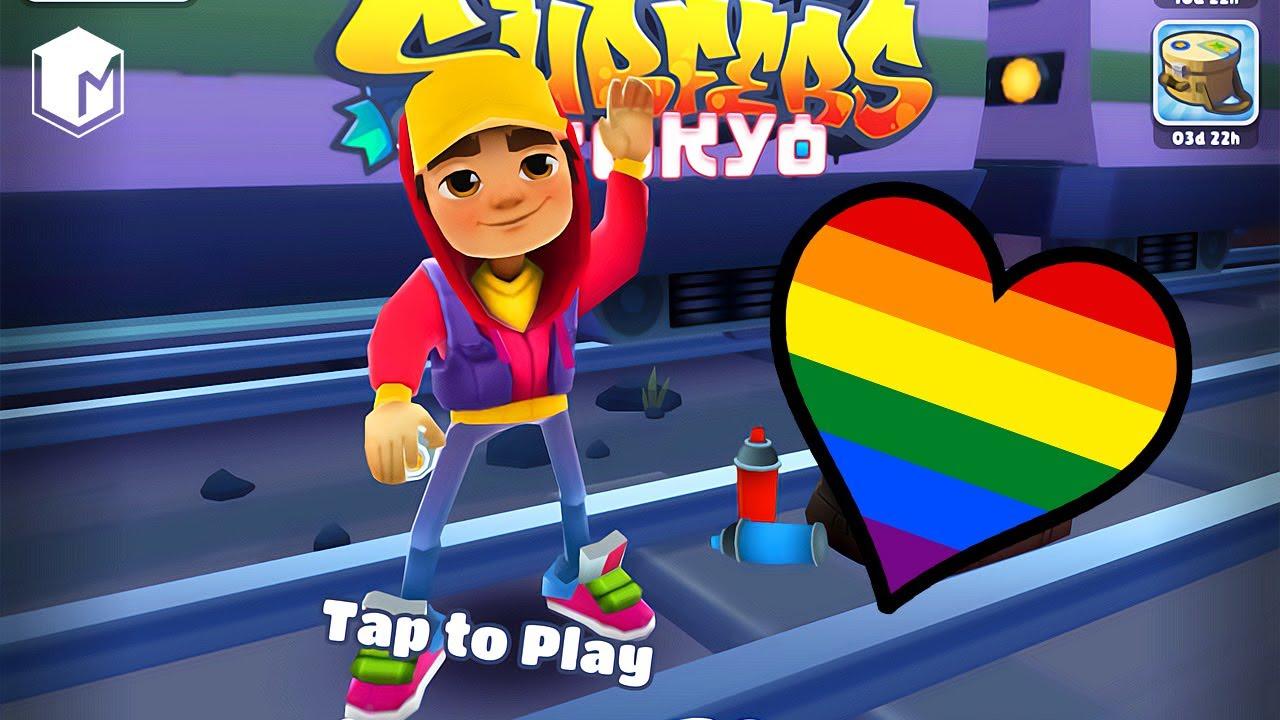 Subway Surfers Tokyo - LGBT Pride Jake