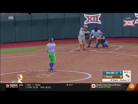 Texas A&M-CC vs Texas Softball Highlights