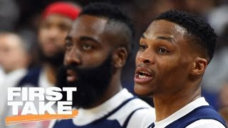 Should Voters Wait For Thunder-Rockets Series To Choose MVP? | First Take | April 12, 2017