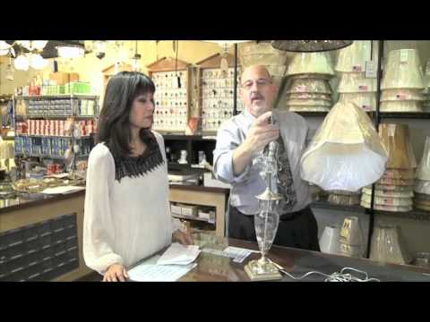 Dress Up Your Lamp With a New Shade & Finial