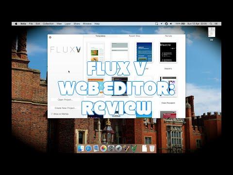 Flux V Web Design App for Mac: Review