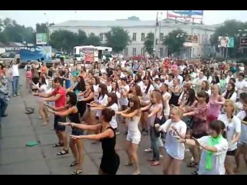 Видео, танцевальный Флэшмоб Арт-студия танца Движение и ГНК