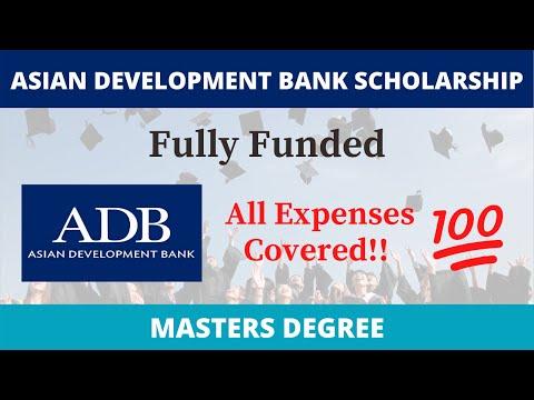 Asian Development Bank Scholarship 2021 Full Funded | Schola