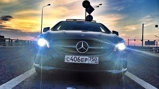 Mercedes CLA250 4-MATIC  видеообзор + мощностной стенд + 0-100 км/ч