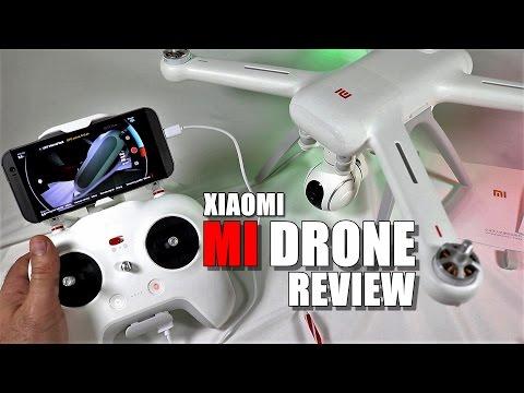XIAOMI MI Drone Review - Part 1 - [Unbox, Inspection & Setup]