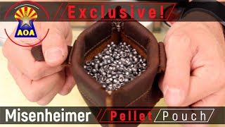 Leather Pellet Pouch by Misenheimer