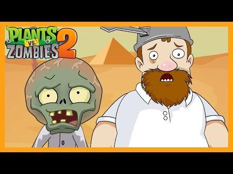 Plantas Vs Zombies 2 Animado Completo Antiguo Egipto ☀️Animación 2018
