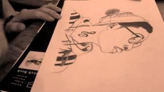 Wiz Khalifa speed drawing