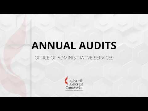 Finance Training: Local Church Annual Audits