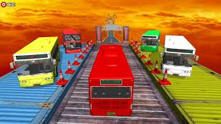 Crazy Bus Impossible Tracks / Bus Driving Simulator / Android Gameplay FHD