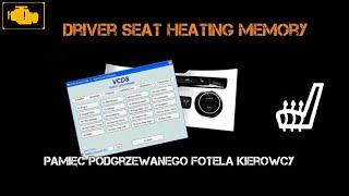 VCDS Pamięć podgrzewanego fotela kierowcy - VCDS Driver Seat Heating Memory