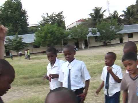 XS21World Summer Camp 2007 school kids in Dar es Salaam