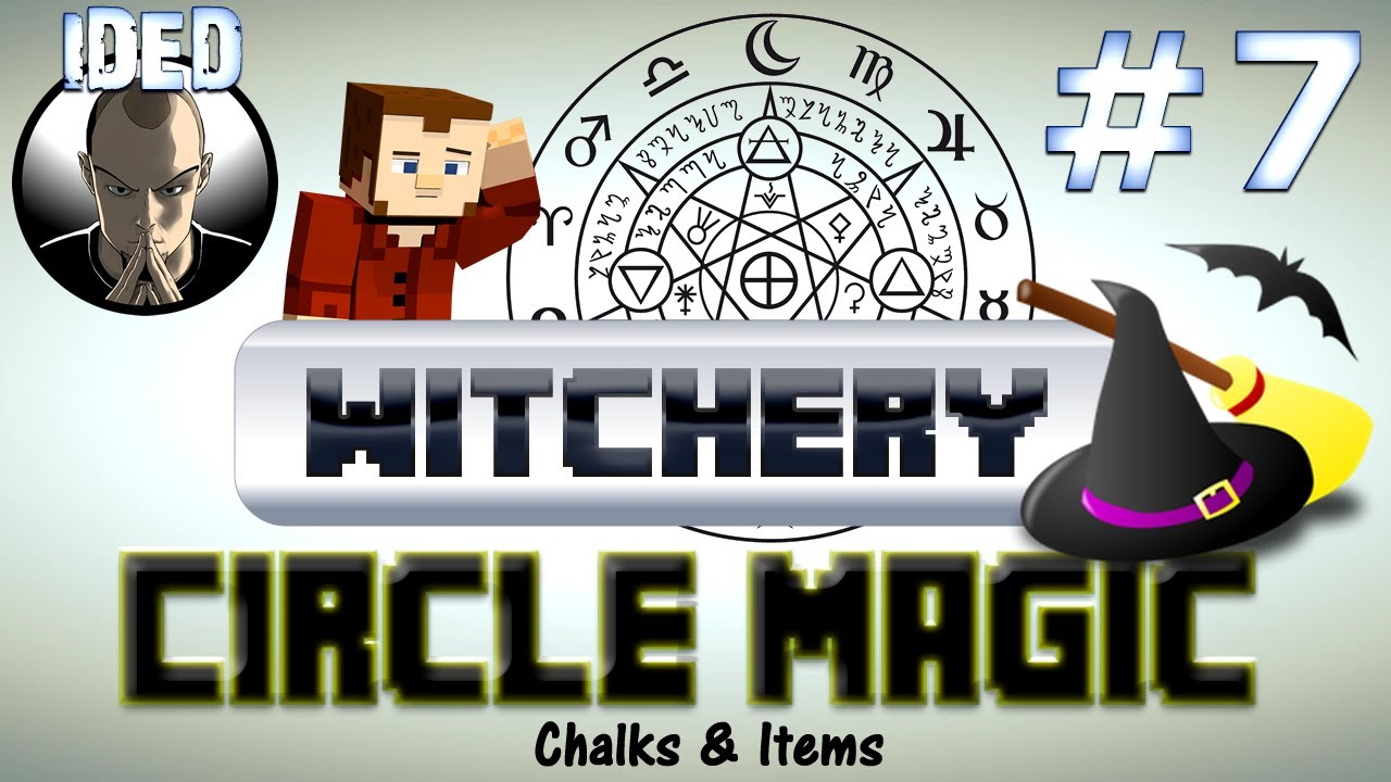 Witchery Tutorial - Circle Magic Chalks and Items ...