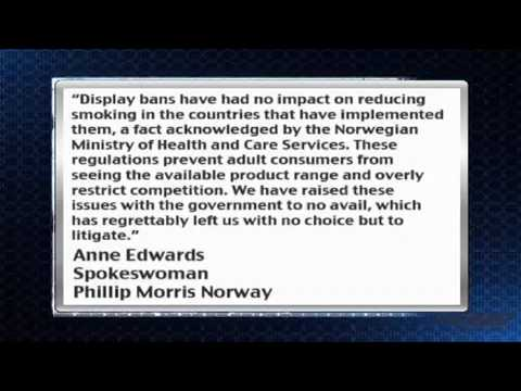 News Update  Phillip Morris NYSE  PM to Sue Norway over Tobacco Display Ban - synpeka.gr