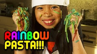 How to Make Rainbow Pasta (Made Possible By Cuties) | Full-Time Kid | PBS Parents