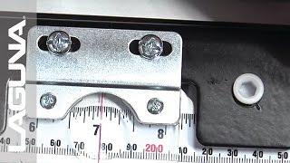 Laguna Tools Fusion Tablesaw Setup - Set The Tape Scale - Part 10 Of 18