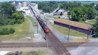 Drone at Fostoria Ohio Rail park  6/18/2016
